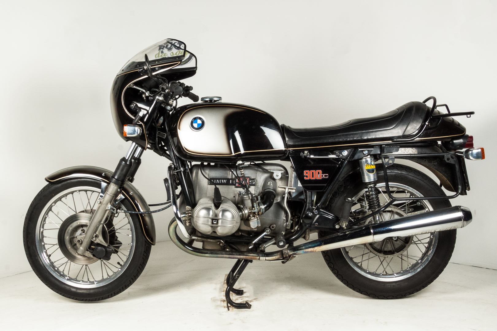 1974 bmw r90s moto d 39 epoca ruote da sogno. Black Bedroom Furniture Sets. Home Design Ideas
