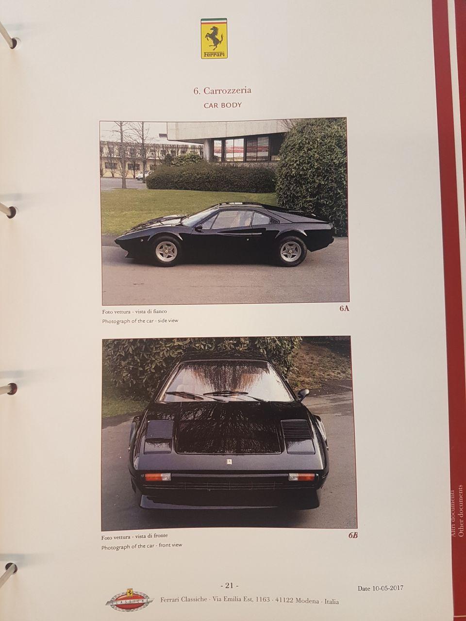 1976 Ferrari 308 GTB Vetroresina  12988