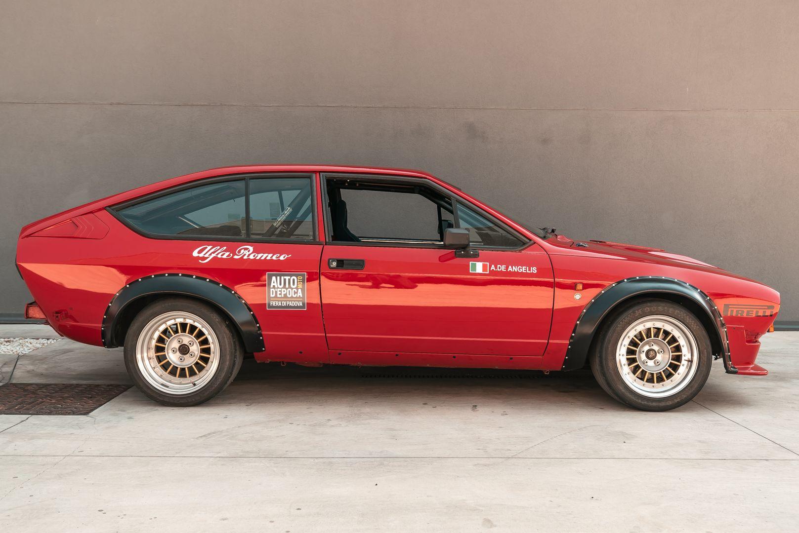 1981 Alfa Romeo GTV V6 2.5 Gr.2 Corsa 80093