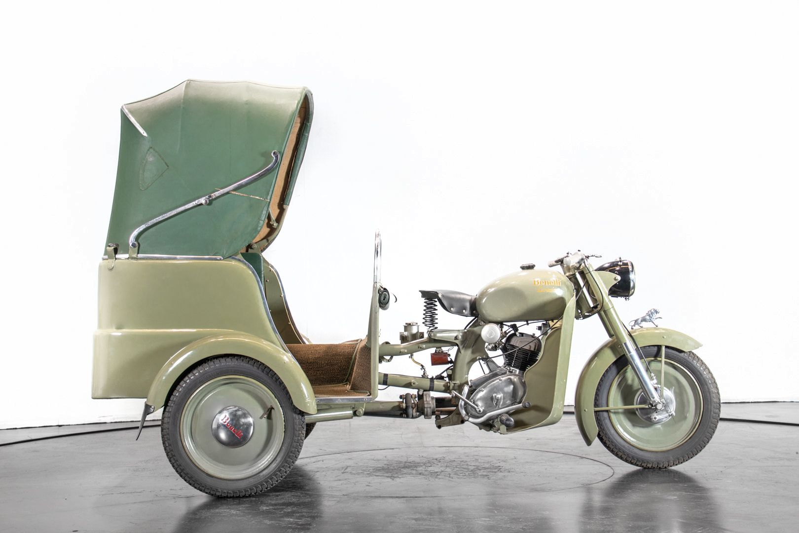 1956 Benelli 125 Leoncino Rikshaws 74319