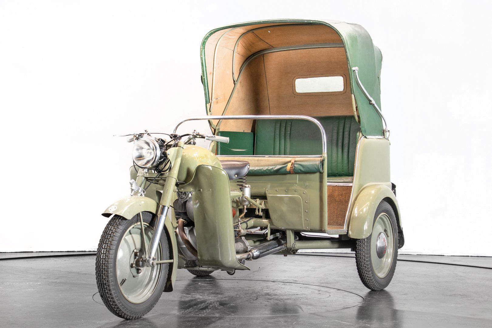 1956 Benelli 125 Leoncino Rikshaws 74323