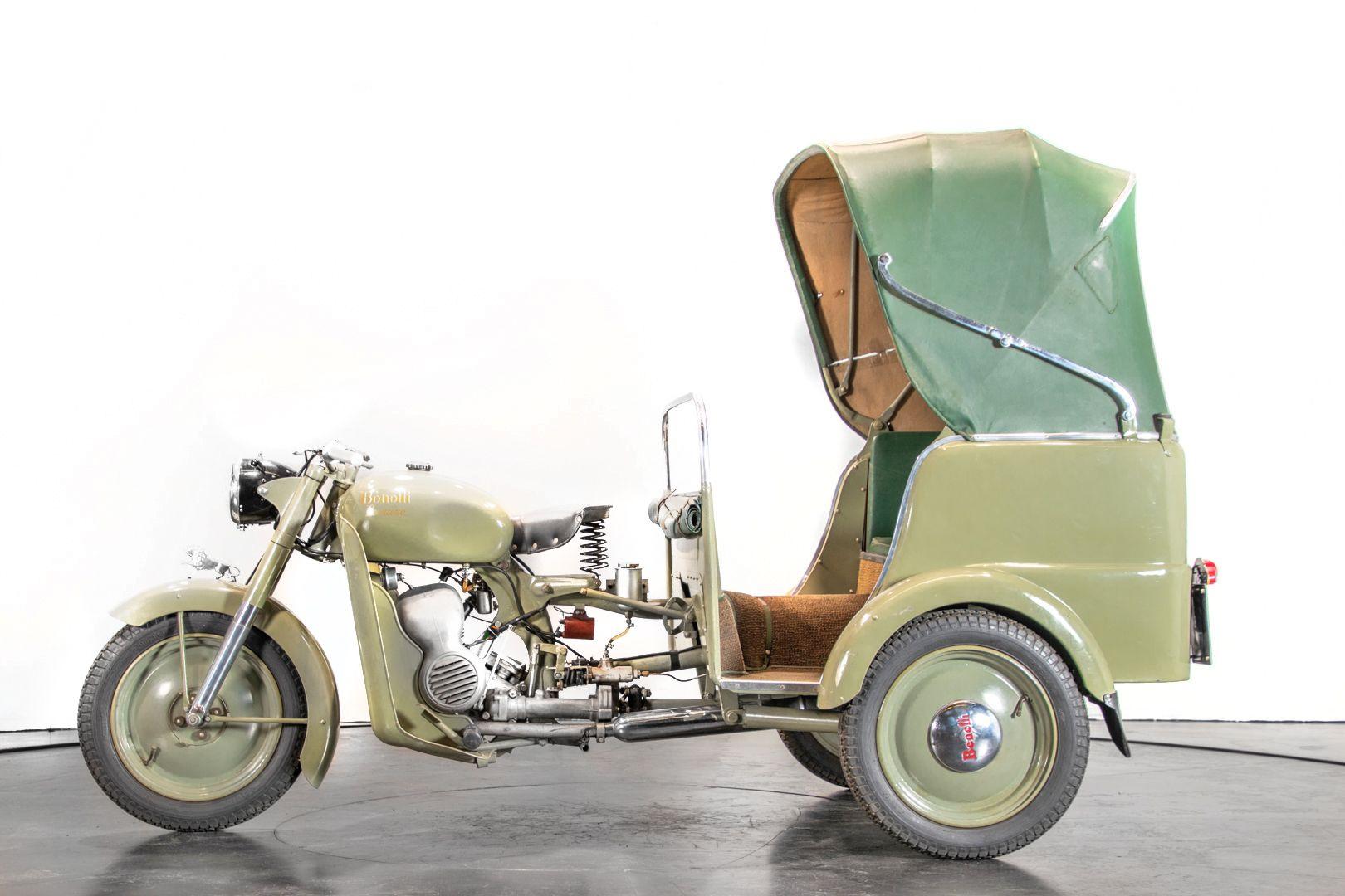 1956 Benelli 125 Leoncino Rikshaws 74322