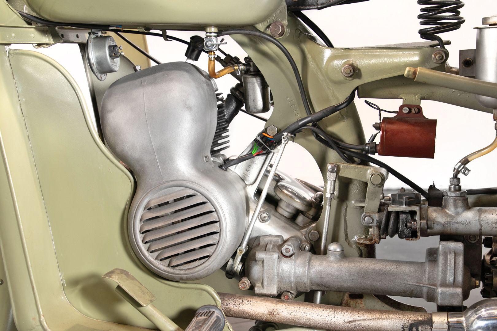 1956 Benelli 125 Leoncino Rikshaws 74329