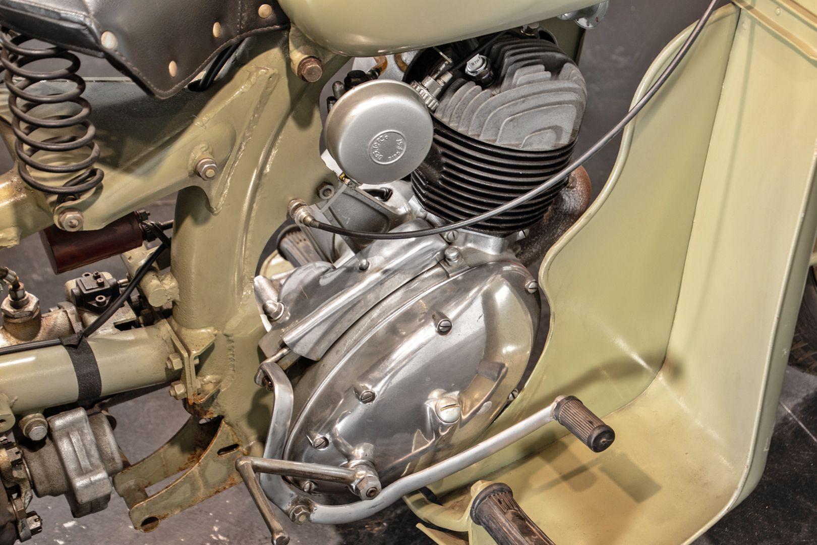 1956 Benelli 125 Leoncino Rikshaws 74334