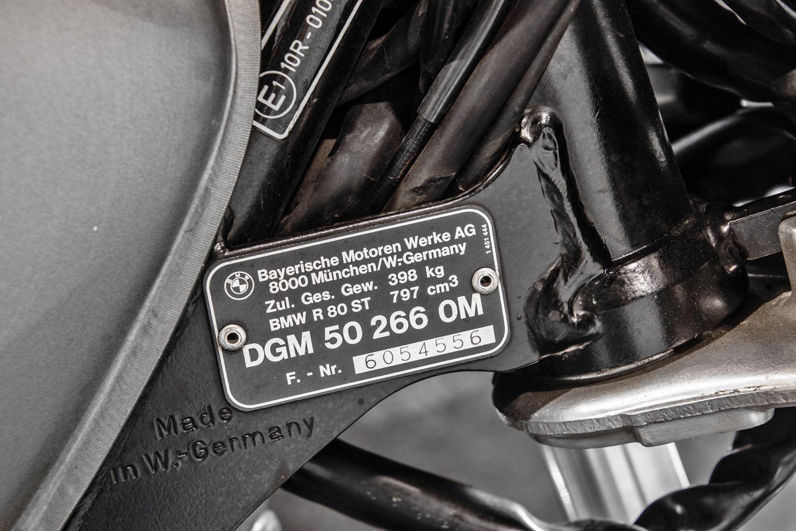 1983 Bmw R80 ST 41330