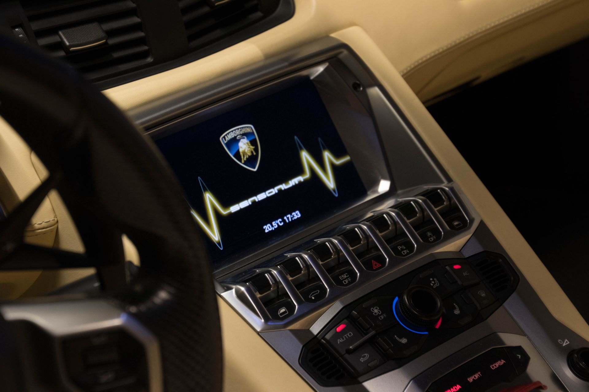 2014 Lamborghini Aventador Roadster  3808