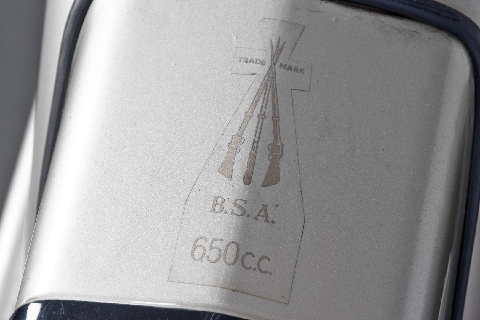 1960 BSA Golden Flash 650 35874