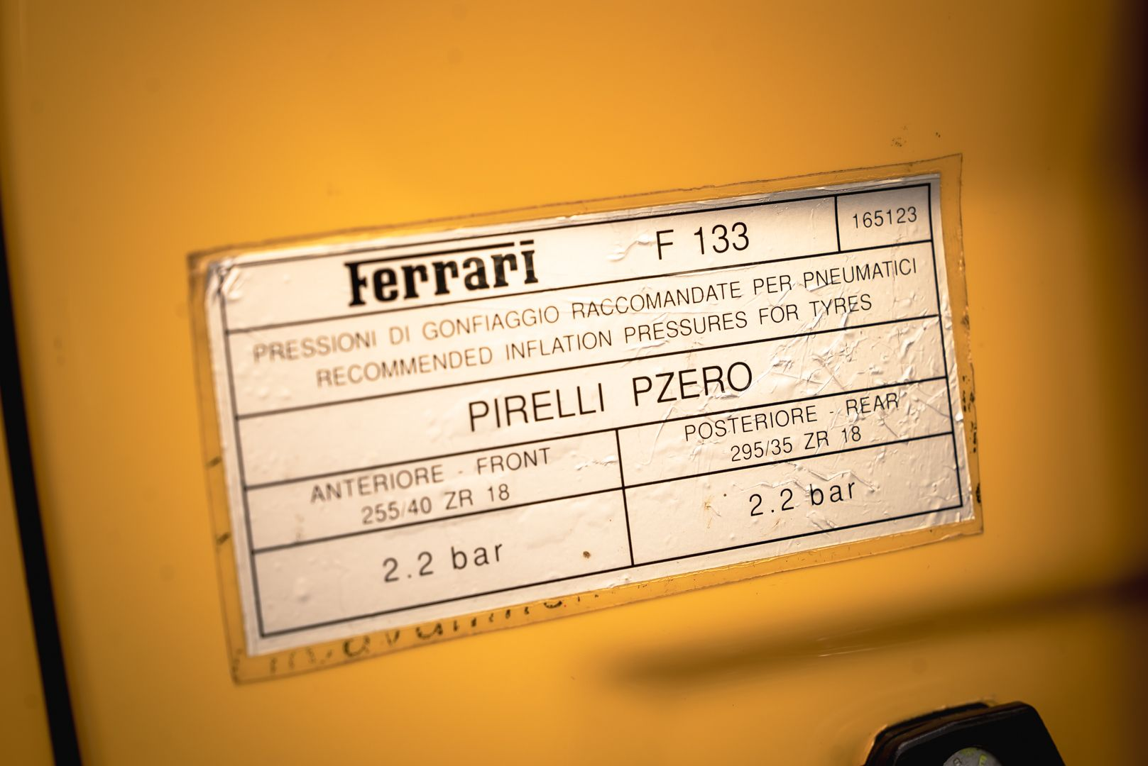 2002 Ferrari 575 Maranello F1 63790