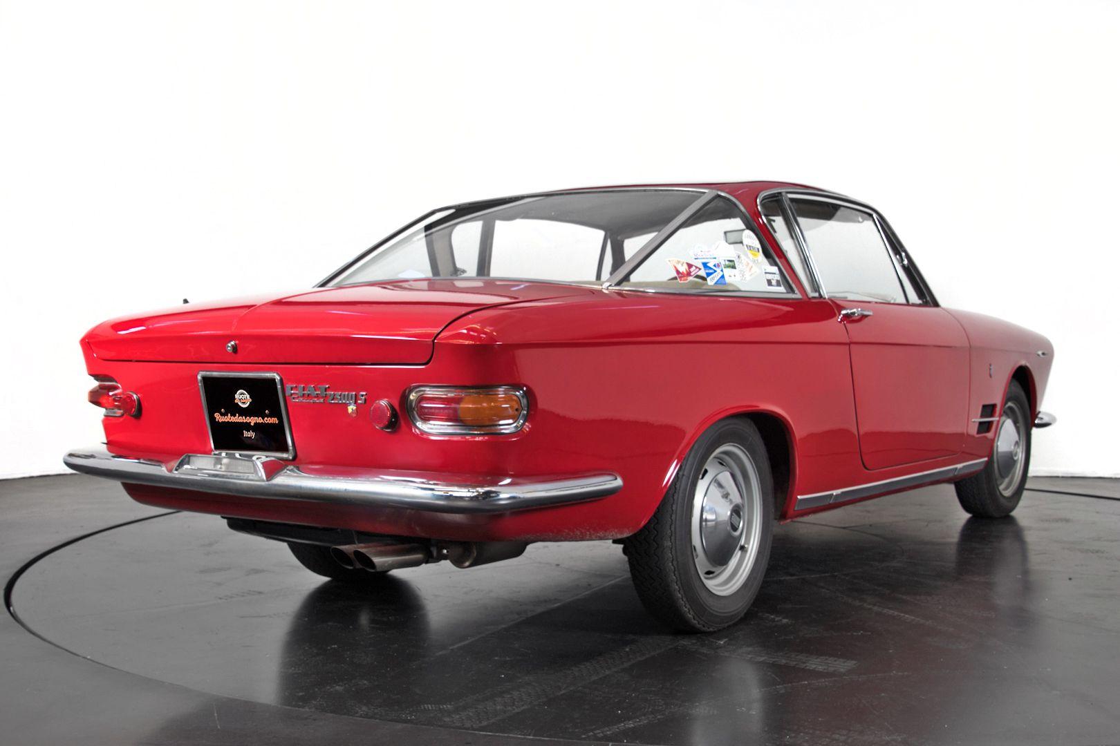 1963 Fiat 2300 S coupè 50457