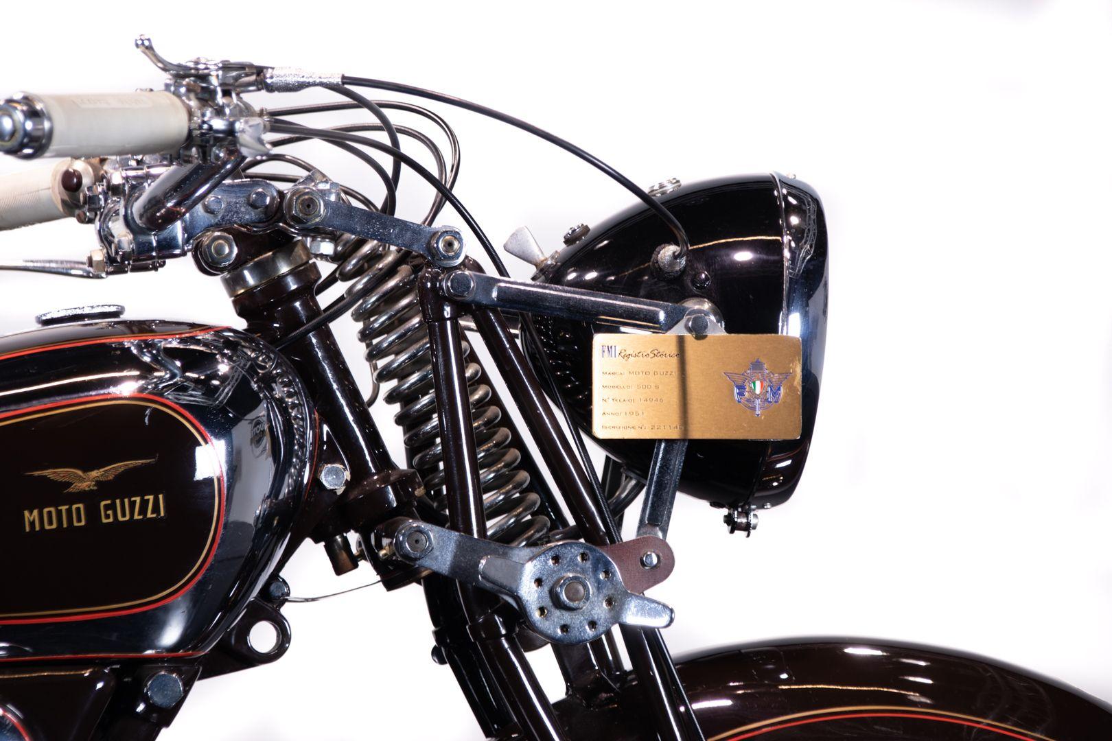 1951 Moto Guzzi 500 72188