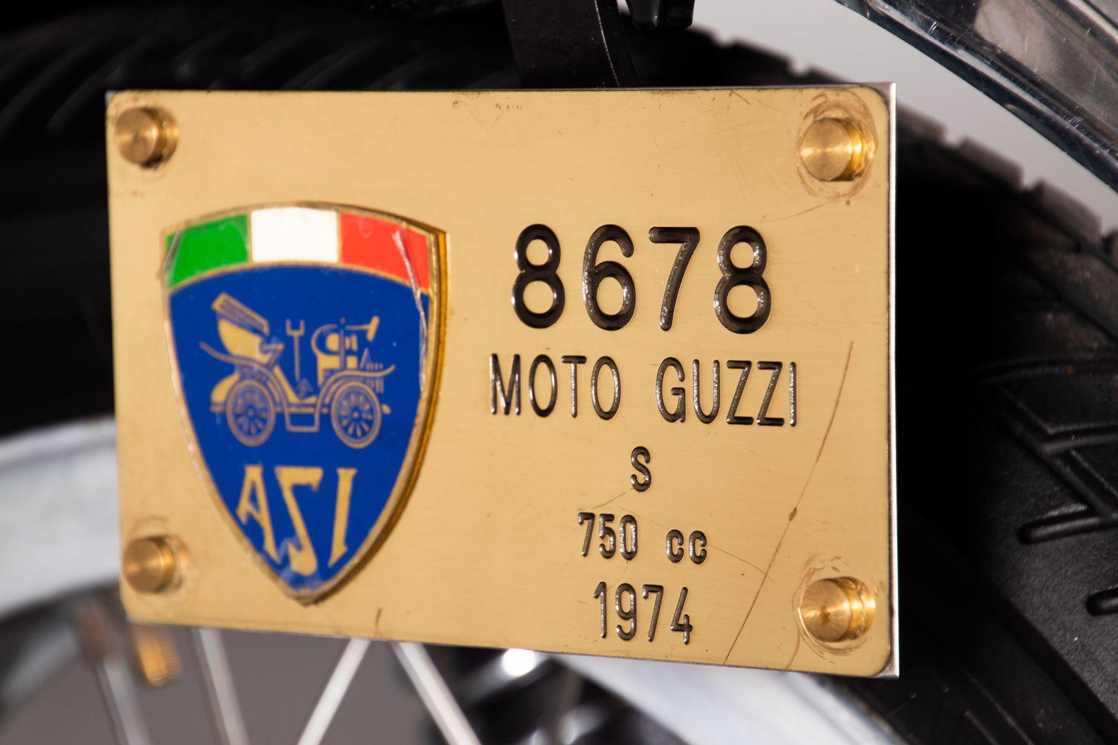 1974 Moto Guzzi VK V7 Sport 44211