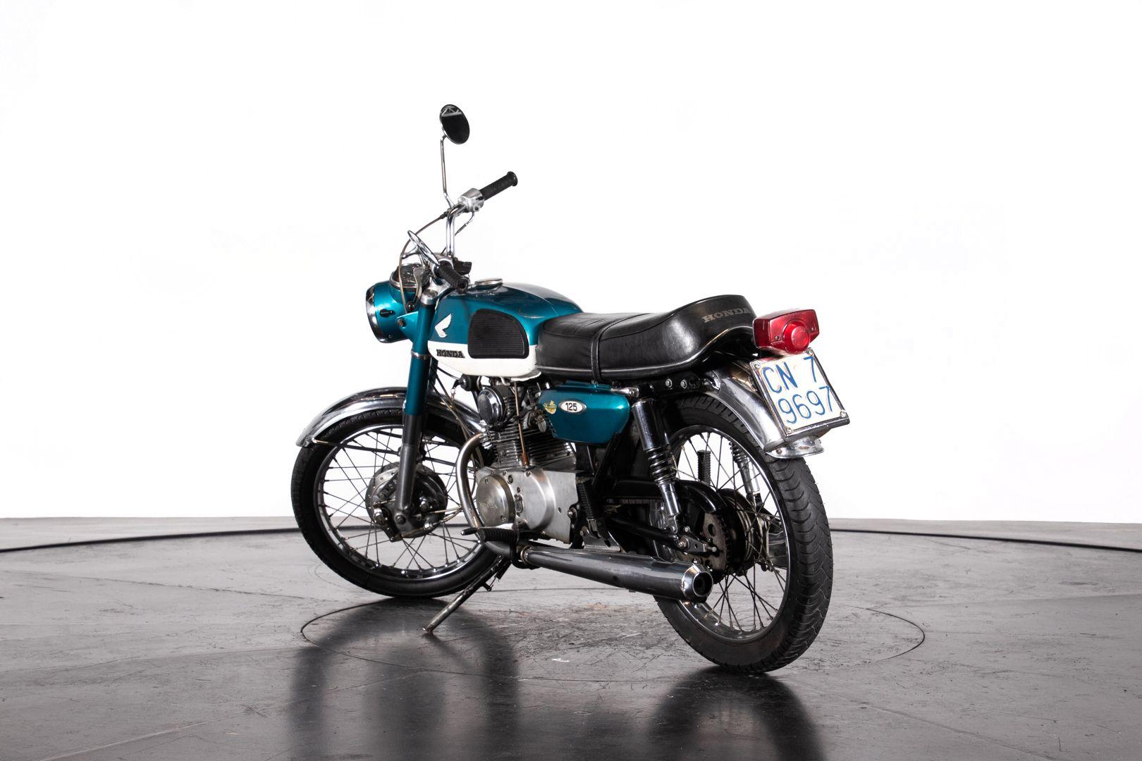 1970 HONDA CB125 46286