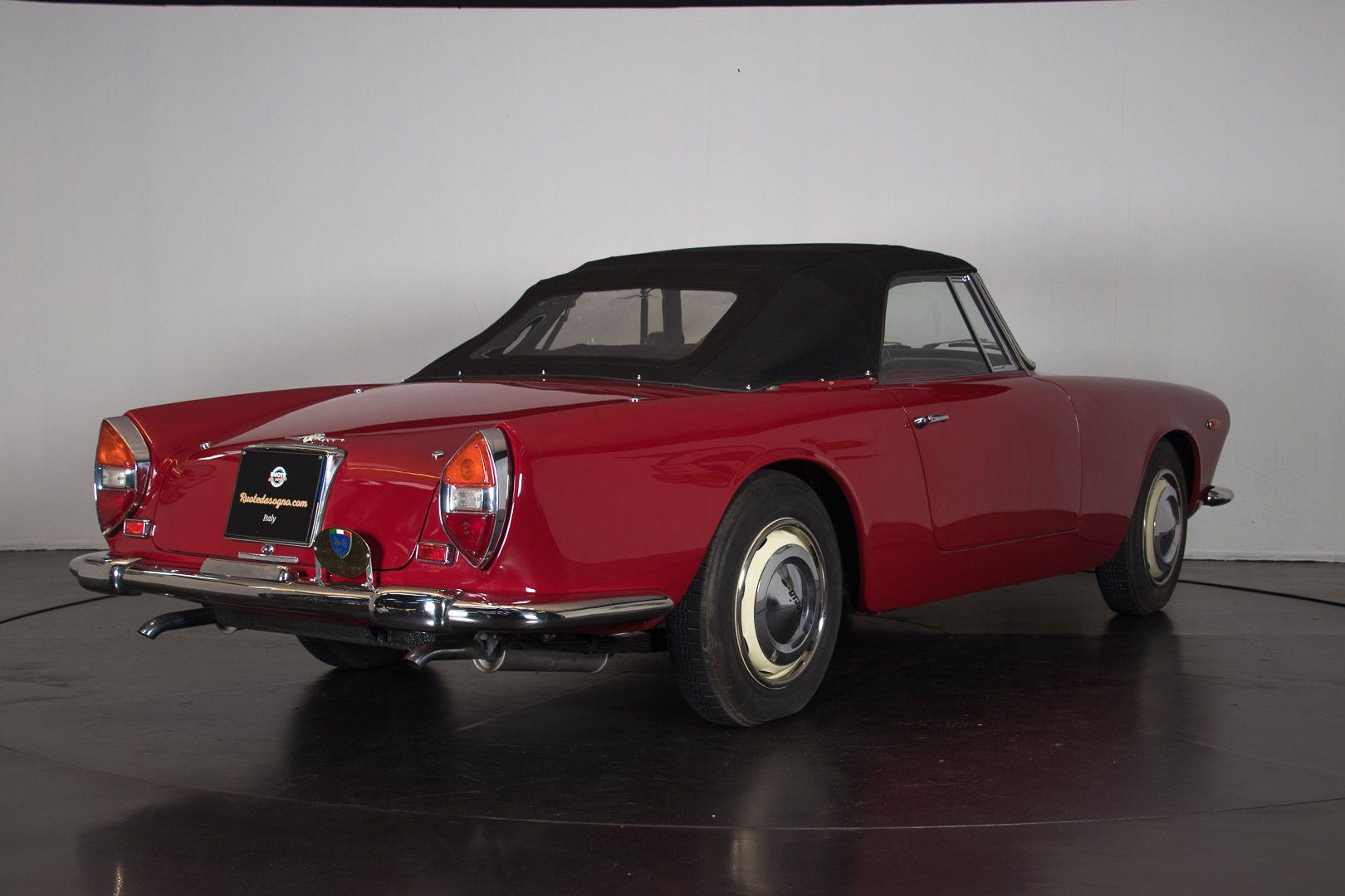 "1962 Lancia Flaminia GT ""Touring"" 2.5 Convertibile 14465"
