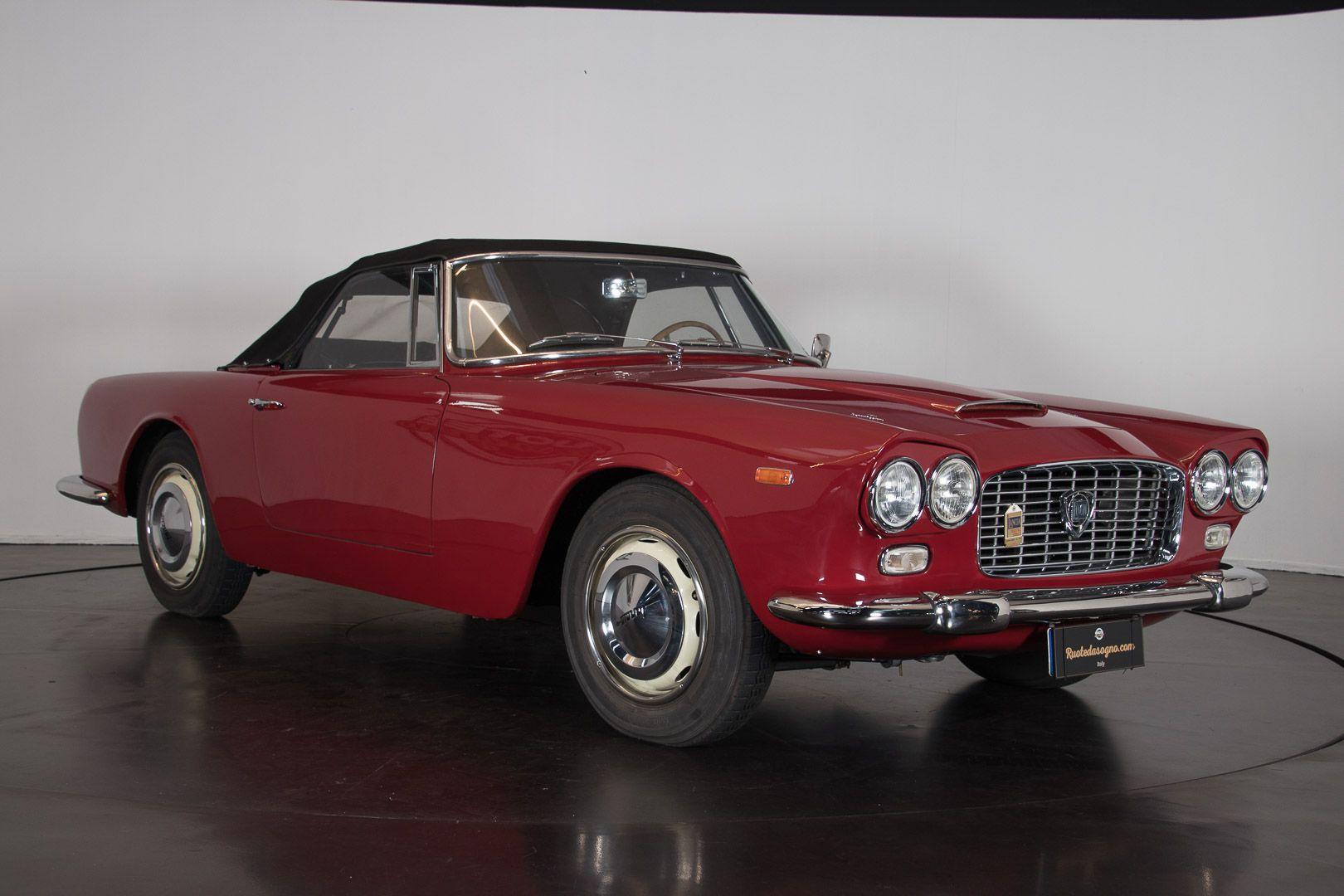 "1962 Lancia Flaminia GT ""Touring"" 2.5 Convertibile 14467"