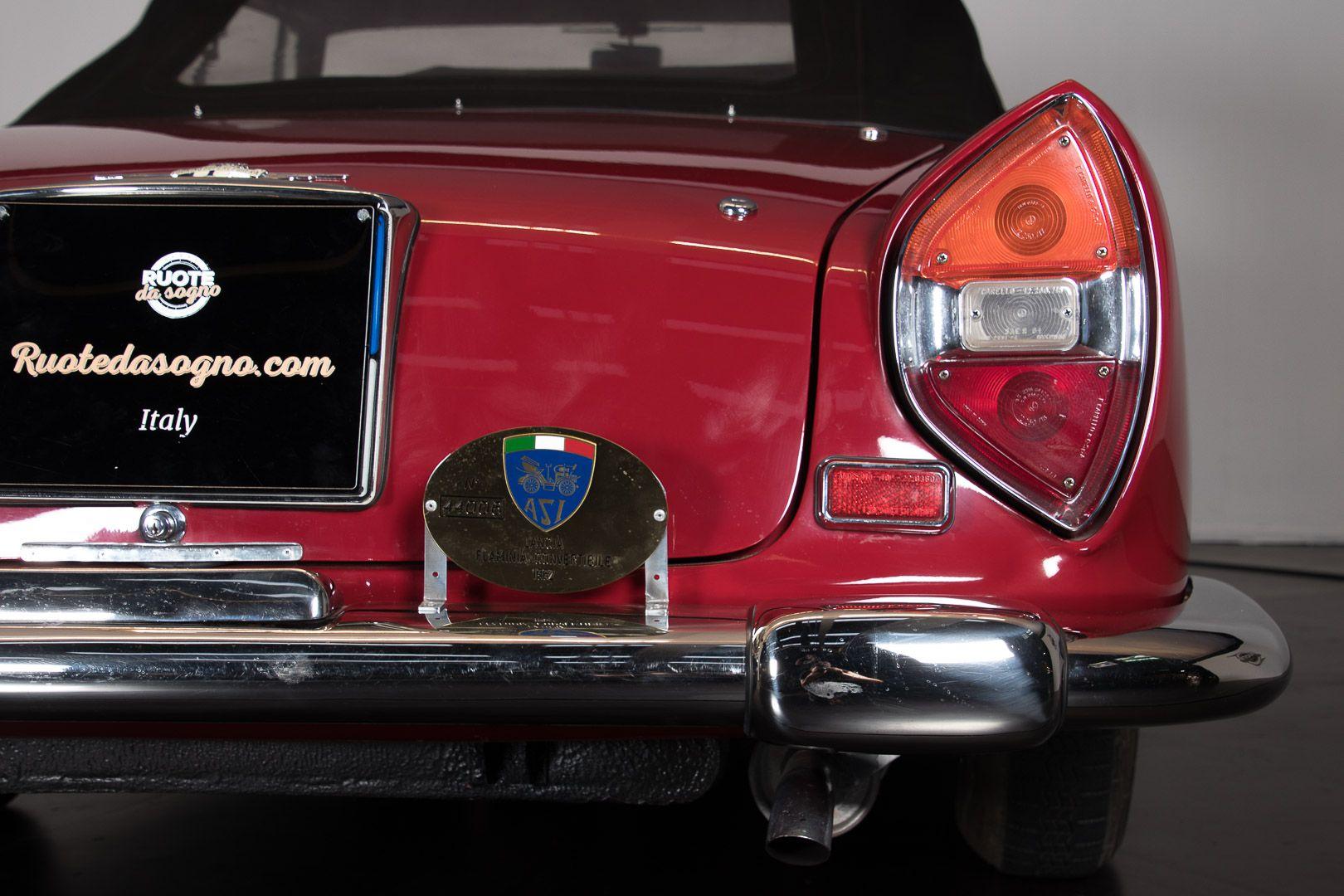 "1962 Lancia Flaminia GT ""Touring"" 2.5 Convertibile 14472"