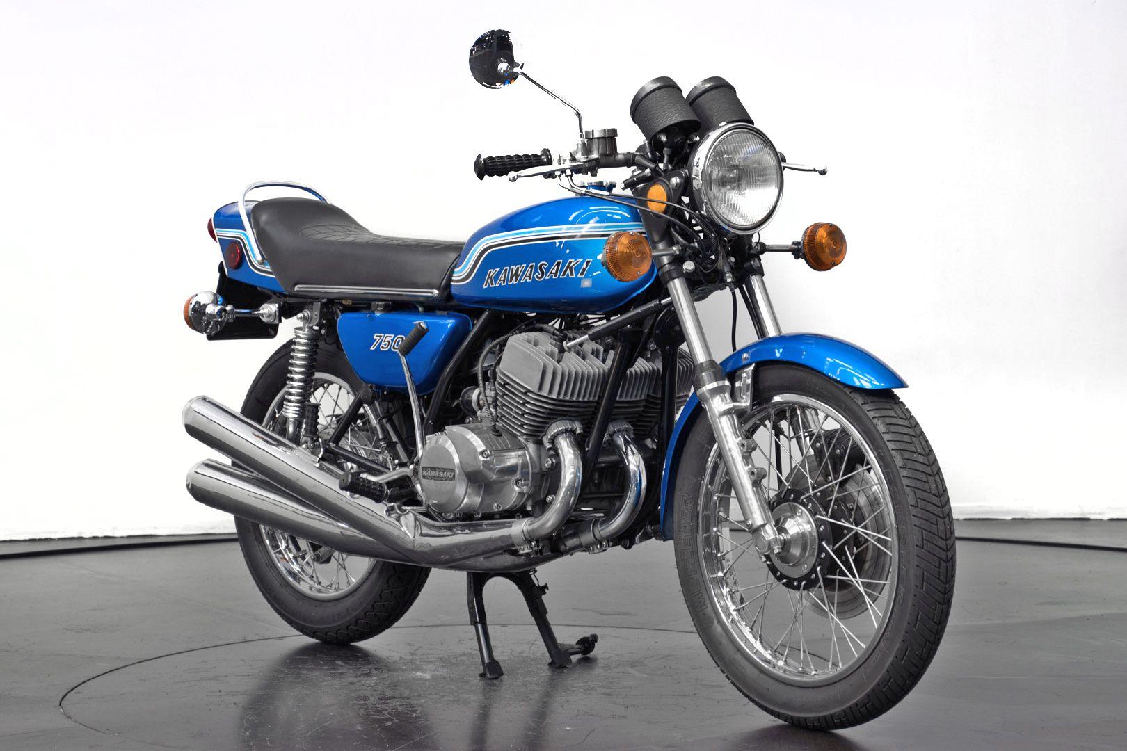 1972 Kawasaki 750 Mach IV 34404