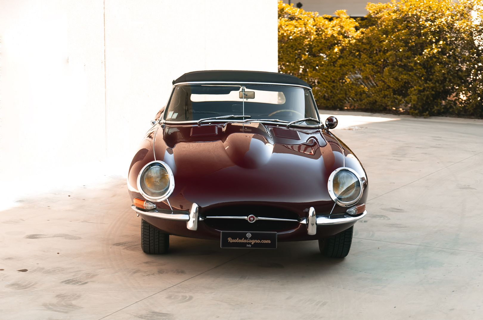 1968 Jaguar E-Type 4.2 Series 1 OTS 75601