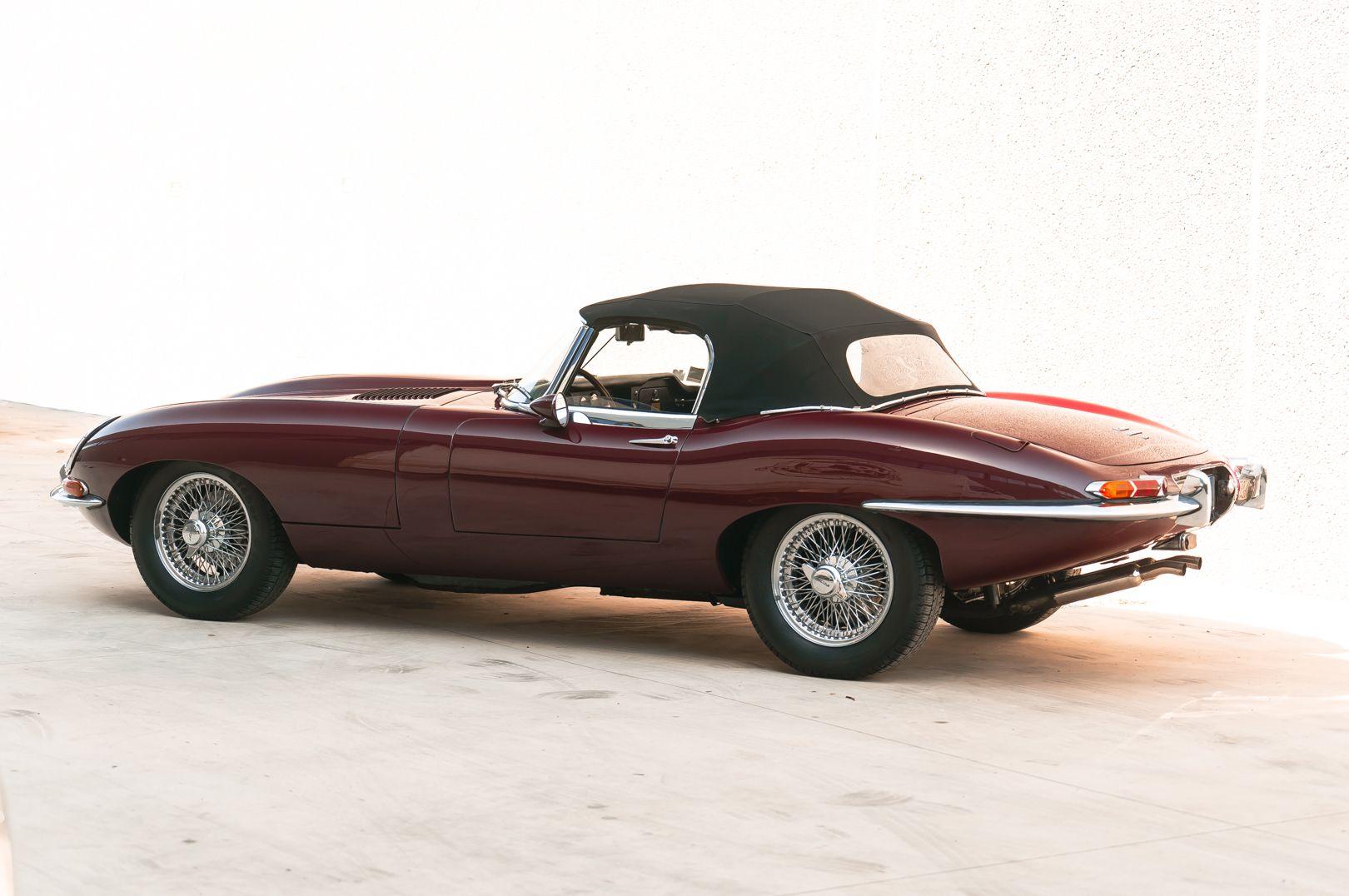 1968 Jaguar E-Type 4.2 Series 1 OTS 75582