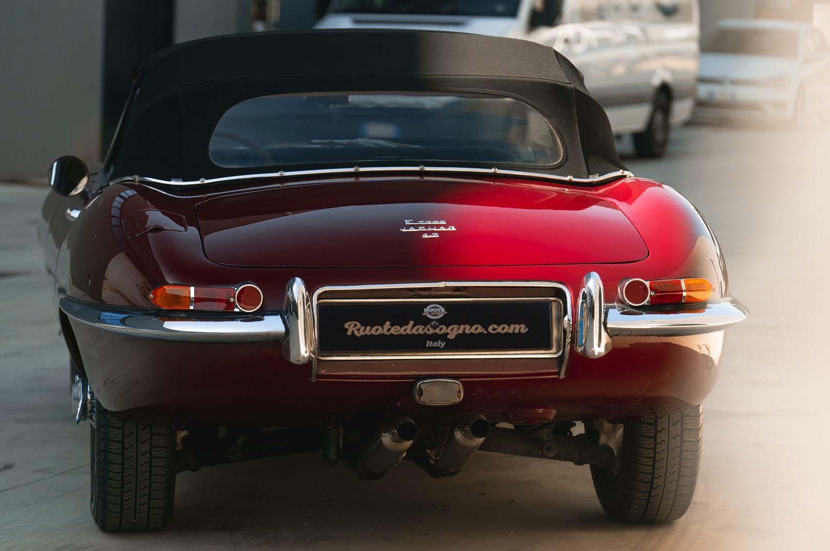 1968 Jaguar E-Type 4.2 Series 1 OTS 75605