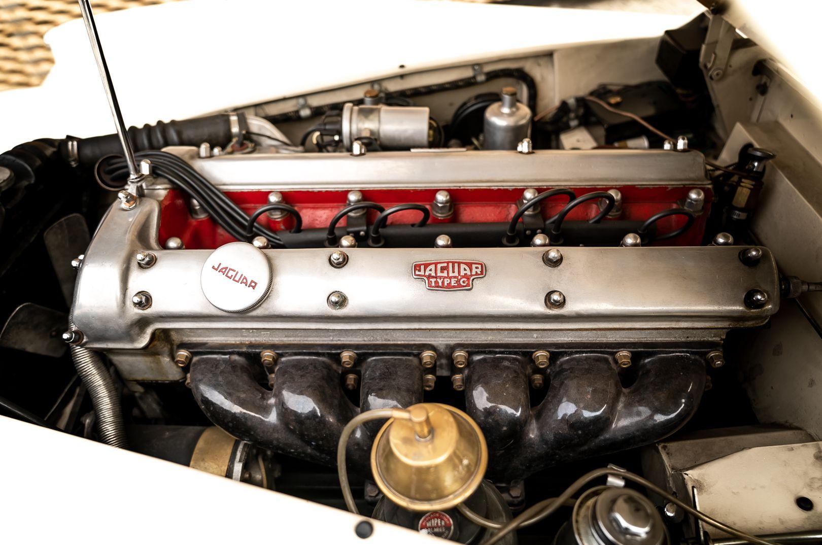 1955 Jaguar XK140 FHC SE 60913
