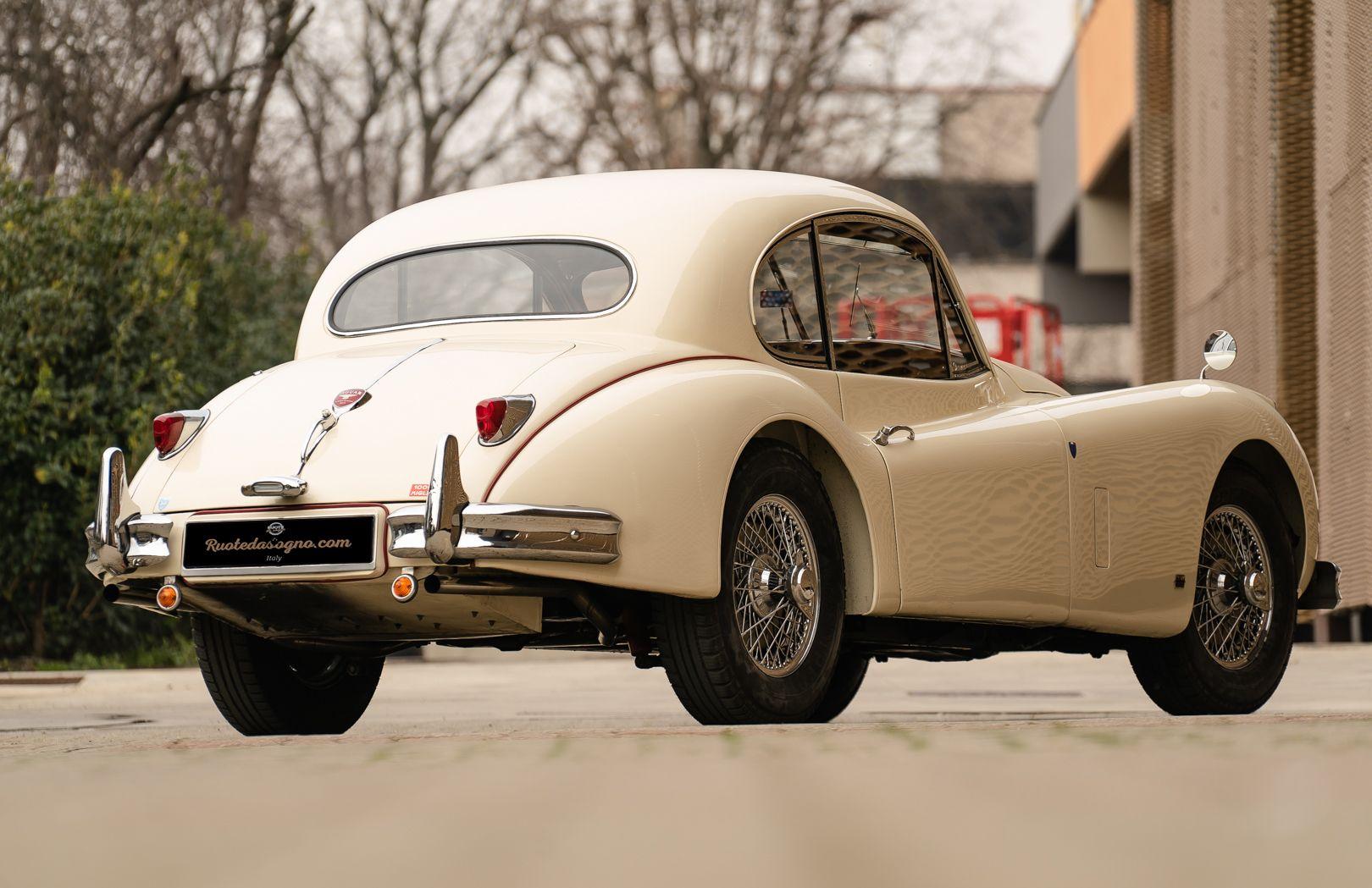 1955 Jaguar XK140 FHC SE 60879