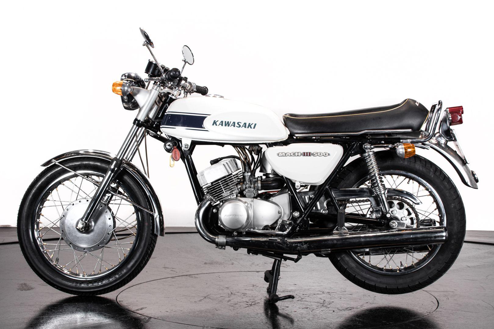 1970 Kawasaki Mach III H1 500 62072