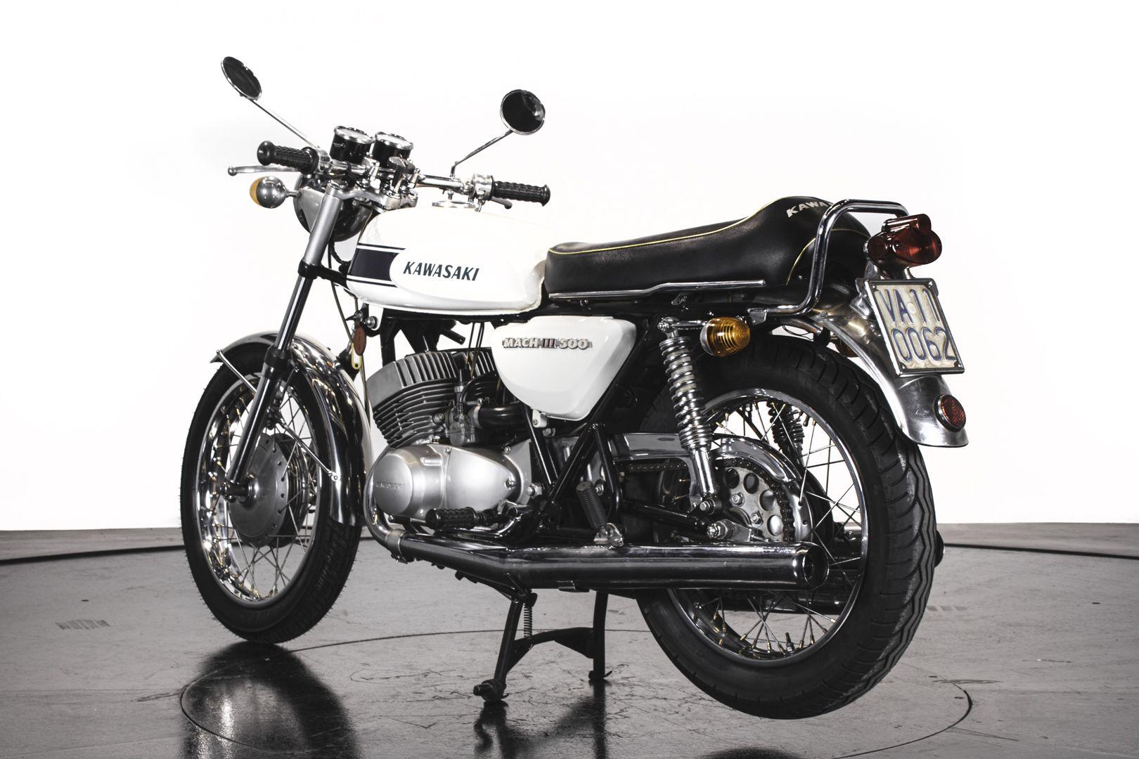 1970 Kawasaki Mach III H1 500 62073