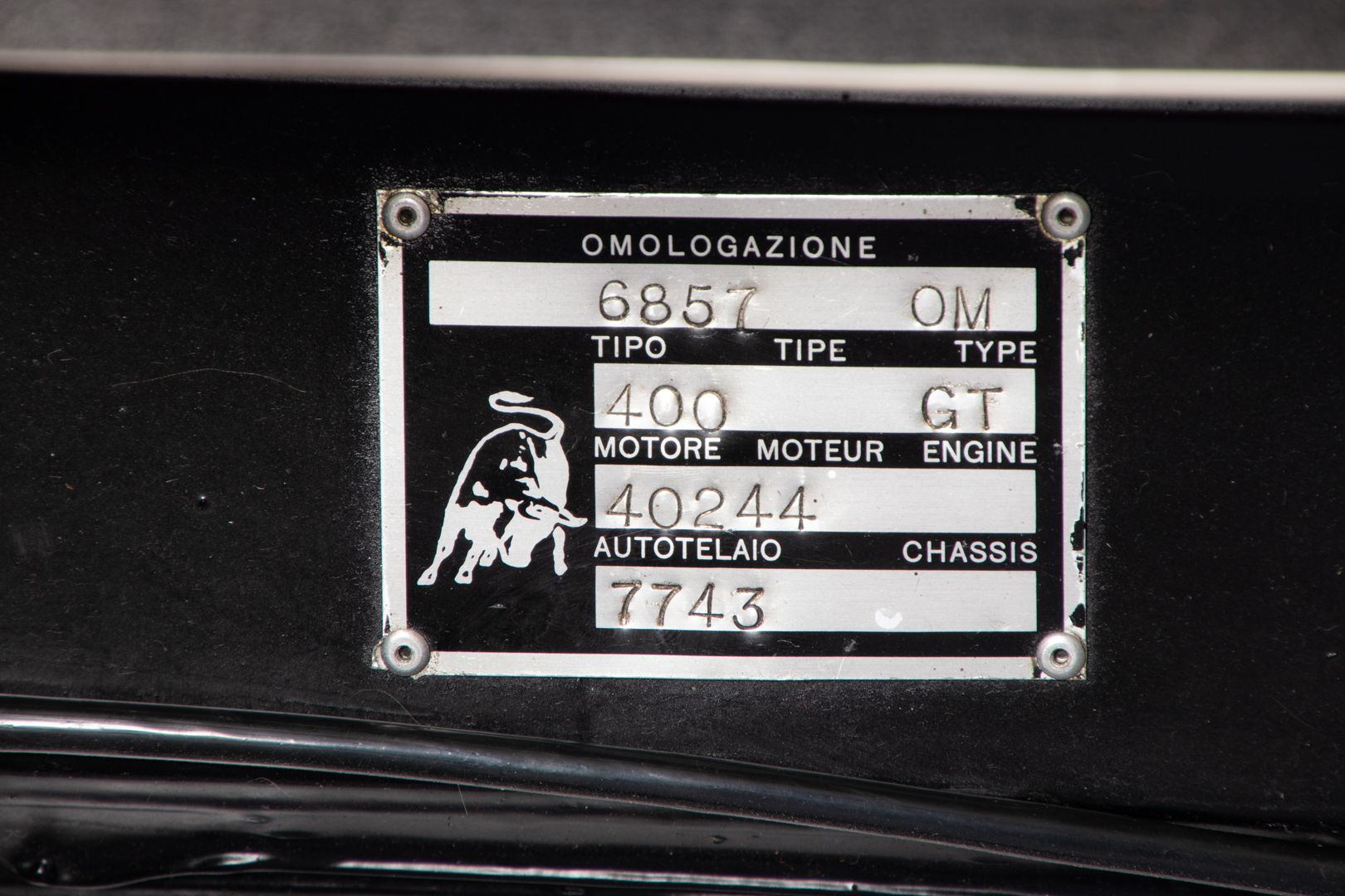 1970 Lamborghini Espada II° Serie 22704