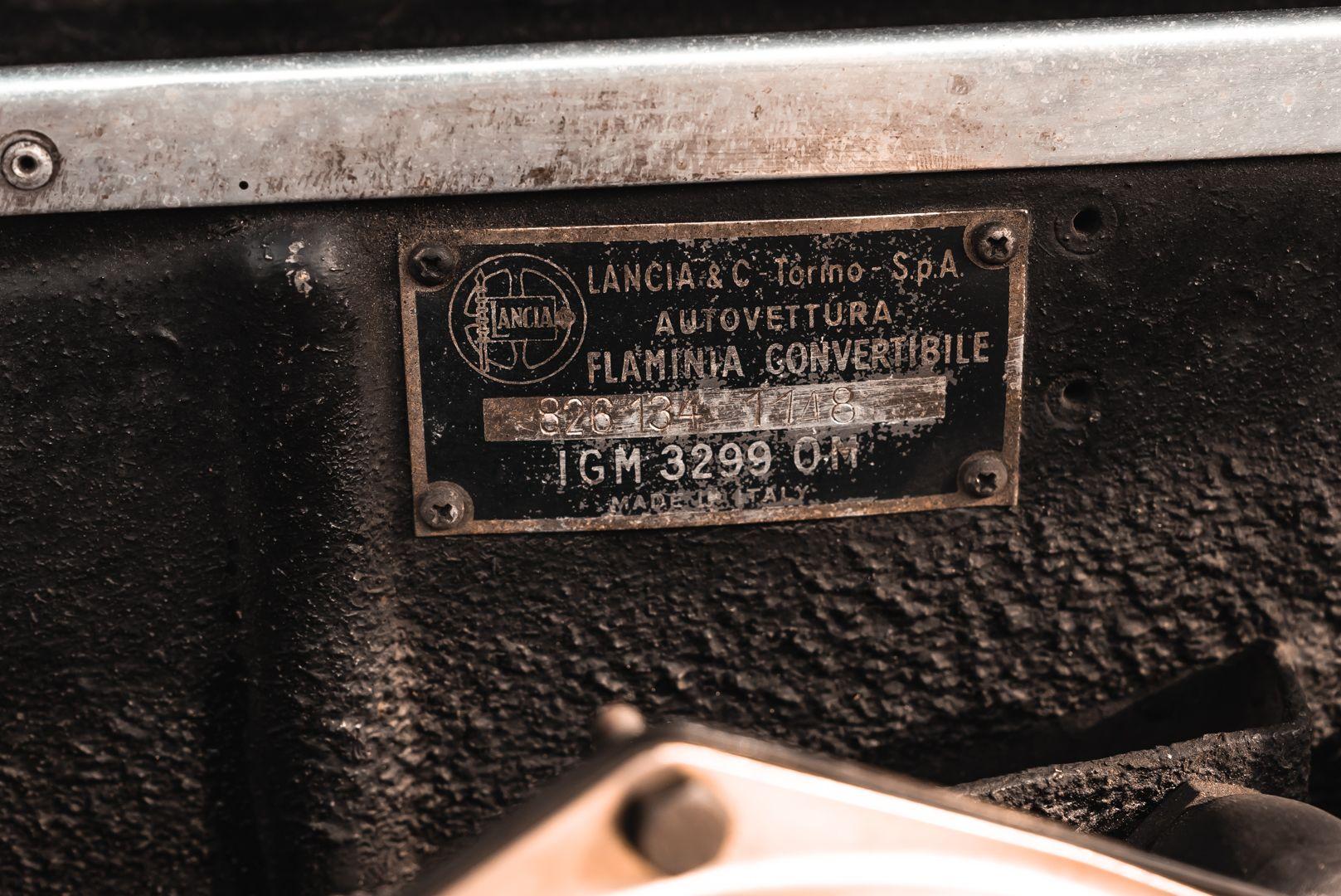 1968 Lancia Flaminia Touring Convertible 2800 3C 79162