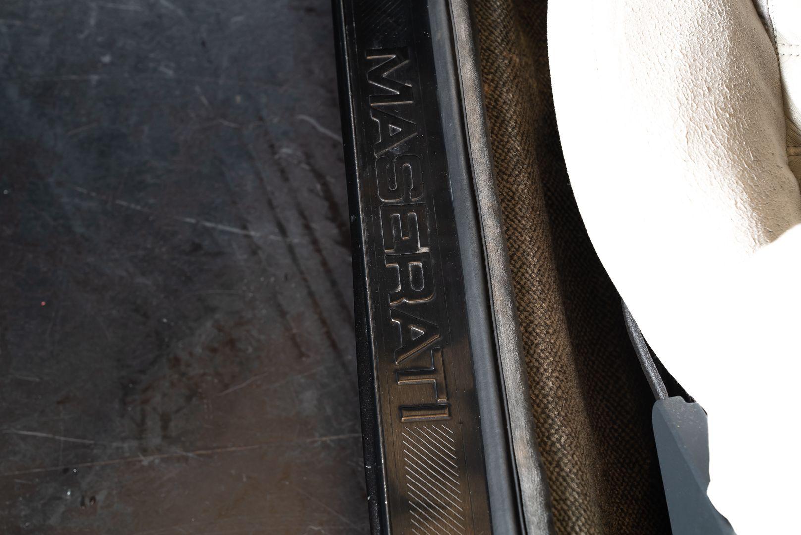 1989 MASERATI BITURBO 2.24V 56963