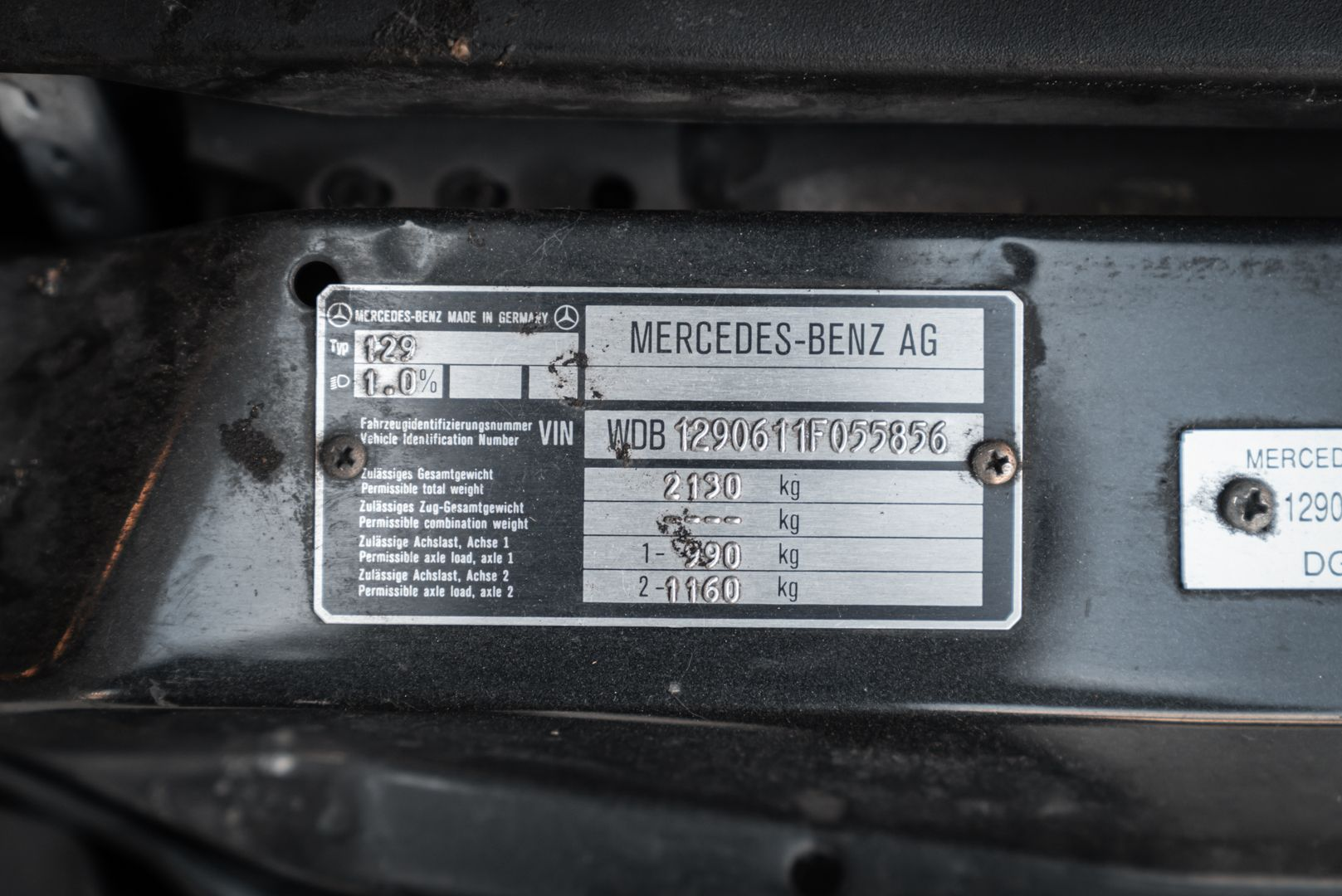1992 Mercedes Benz 300 SL 24 V 80645