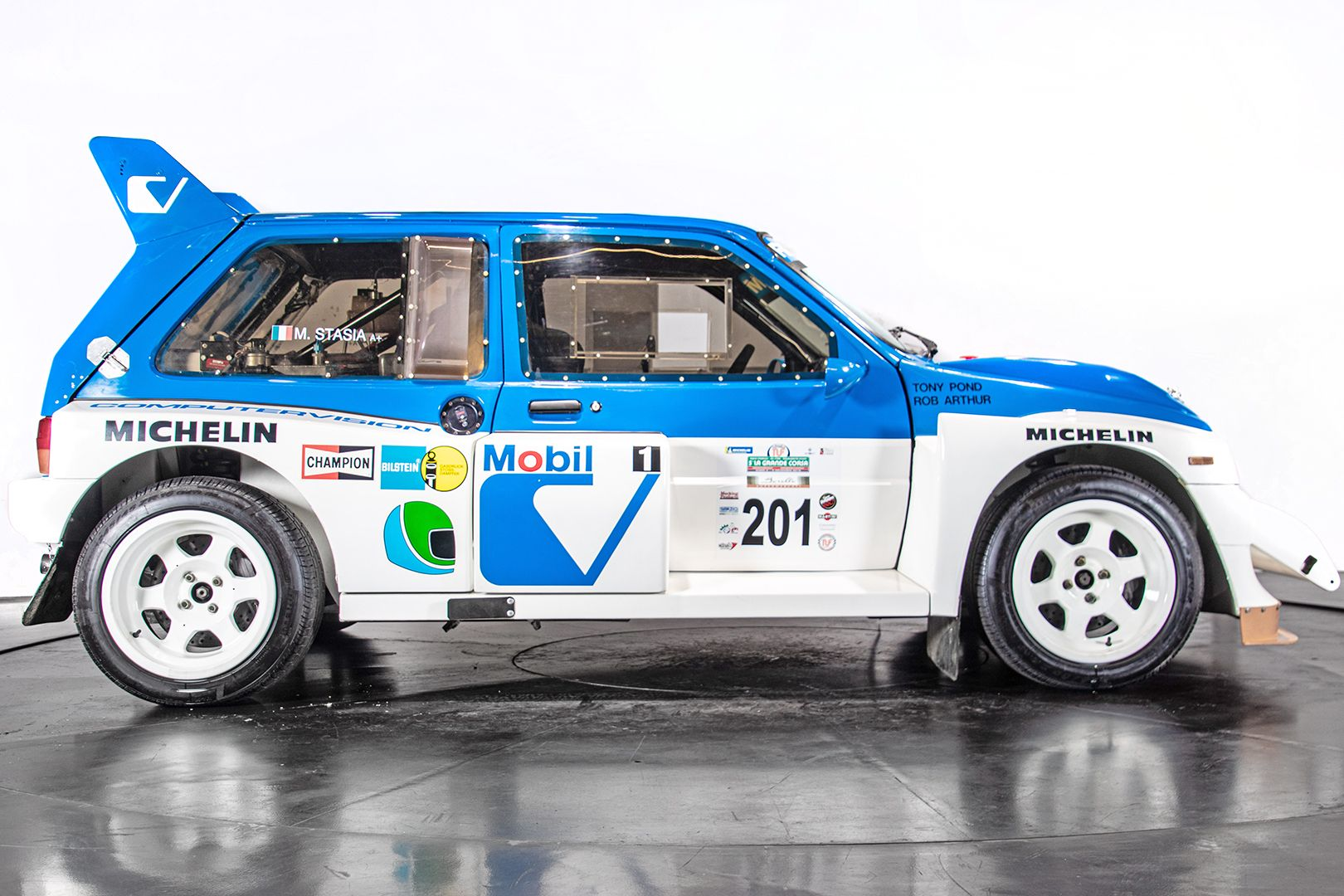 "1985 MG Metro 6R4 ""Gruppo B"" 55217"