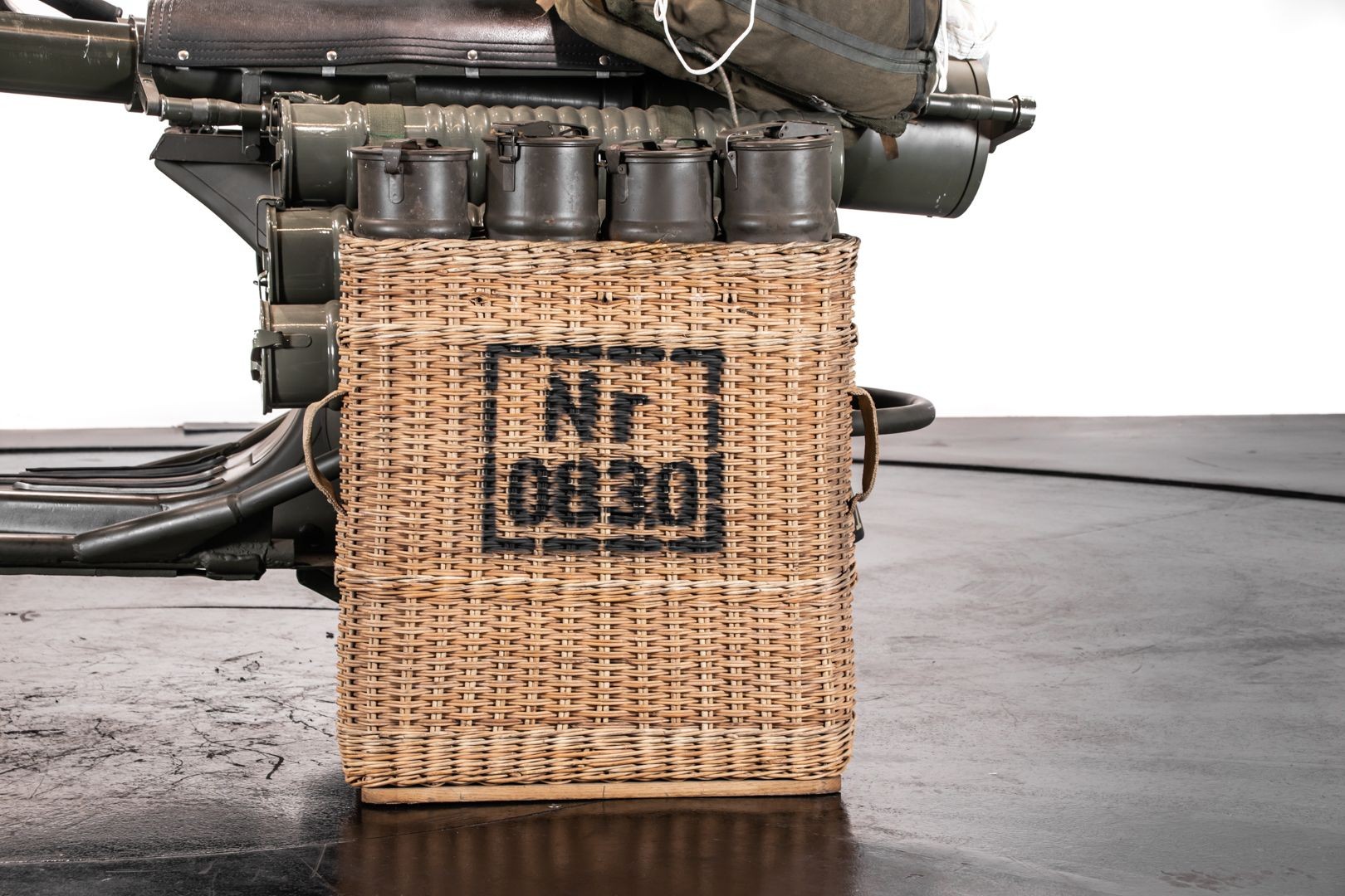1956 Piaggio Vespa 150 TAP Militare 68010