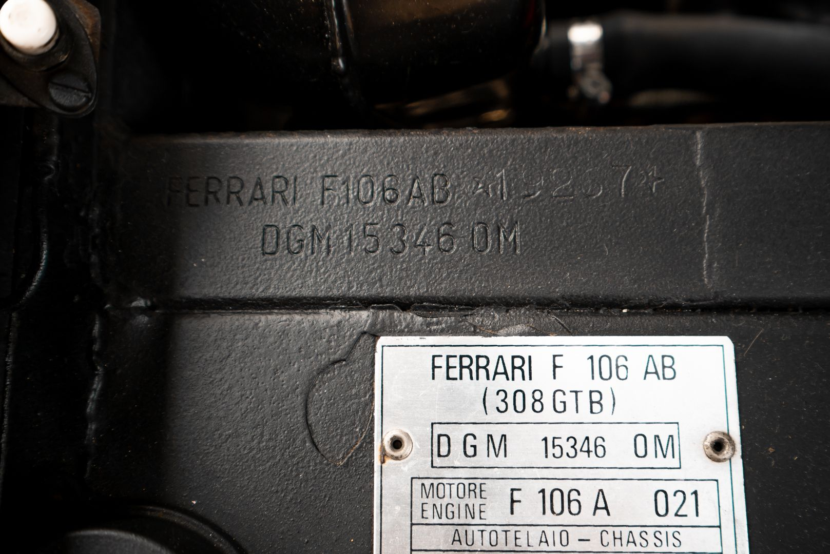 1976 Ferrari 308 GTB Vetroresina 74074