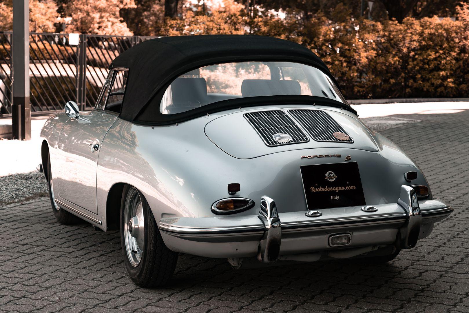 1963 Porsche 356 B 1600 S Cabriolet 76213