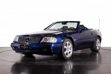 2000 Mercedes Benz SL500 Blue Edition