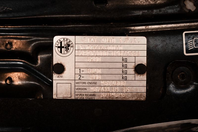 2003 Alfa Romeo 147 GTA 3.2i V6 24V 79590