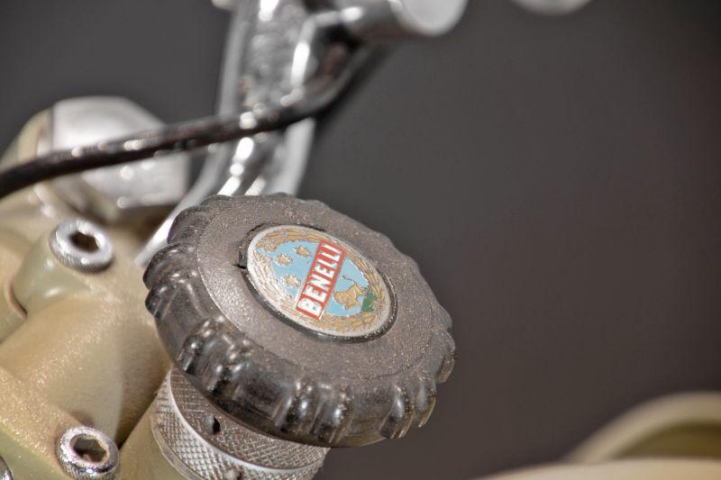 1956 Benelli 125 Leoncino Rikshaws 74328
