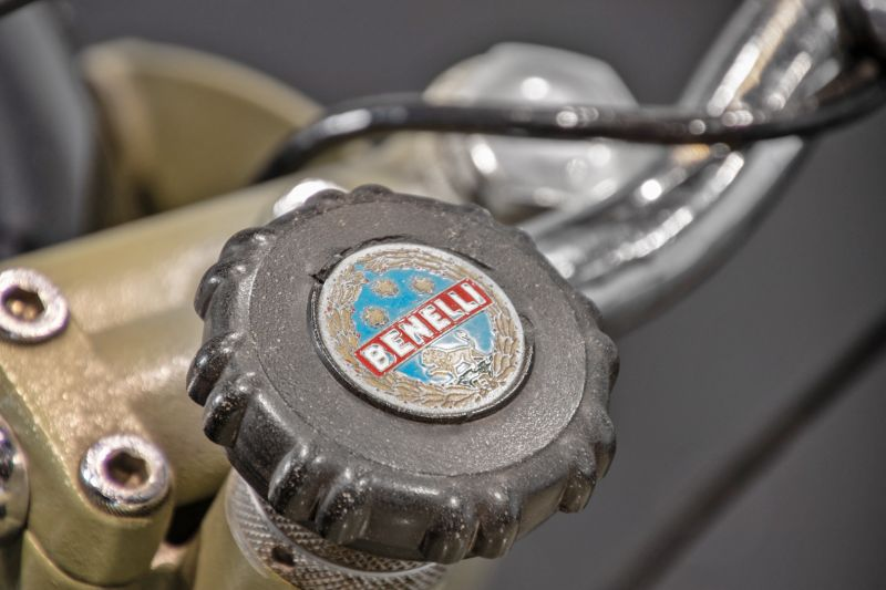 1956 Benelli 125 Leoncino Rikshaws 74327