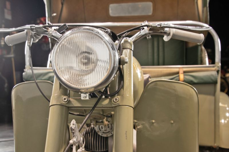 1956 Benelli 125 Leoncino Rikshaws 74336