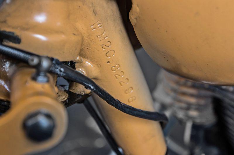 1947 BSA 500 WM 20 74599
