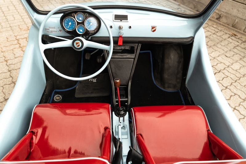 1971 Fiat 500 F Replica Speedster 80064