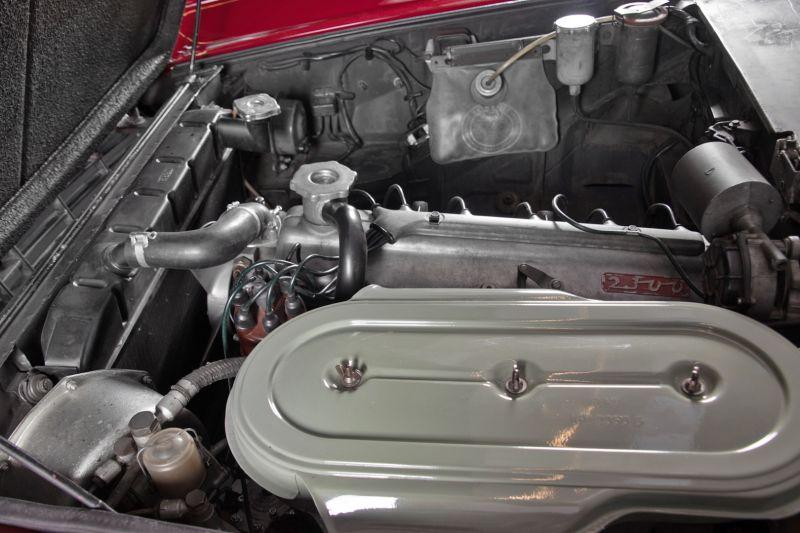 1963 Fiat 2300 S coupè 50487
