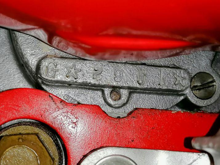 1963 Moto Guzzi Galletto 192 78285