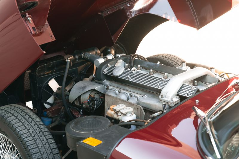 1968 Jaguar E-Type 4.2 Series 1 OTS 75635