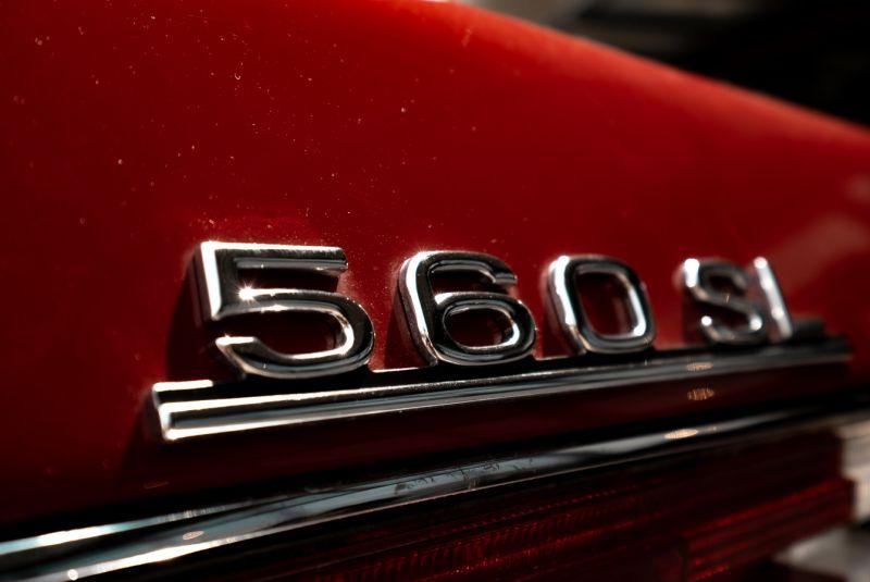 1985 Mercedes-Benz SL 560 73636