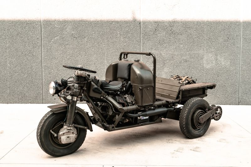 1960 Moto Guzzi Mulo Meccanico 63220