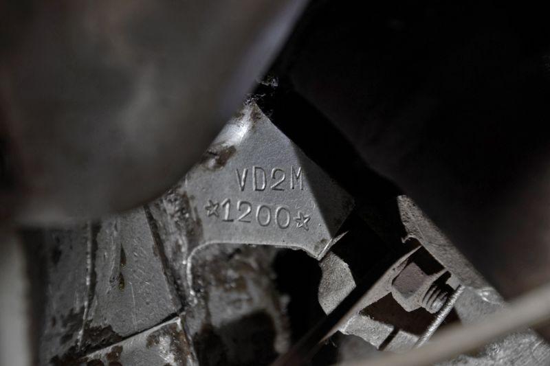 1954 Piaggio Vespa GS 150 VD 34735