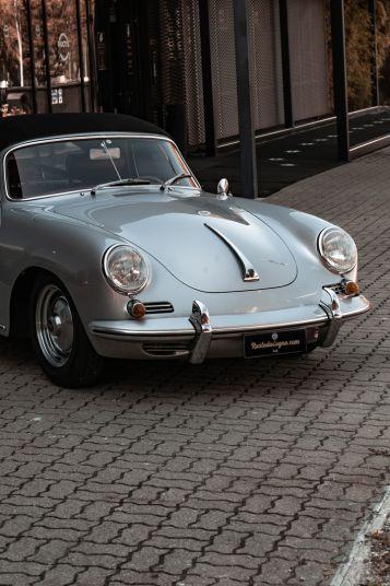 1963 Porsche 356 B 1600 S Cabriolet 76211