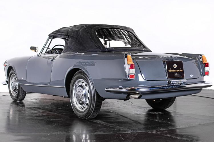 1966 ALFA ROMEO 2600 SPIDER TOURING 9